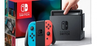 Nintendo Switch - Neon Red/Blue Joy-Con
