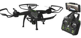Protocol Galileo Stealth Quadcopter Drone with Camera