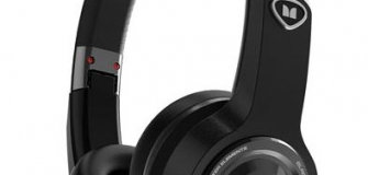Monster Elements On-Ear Sound Isolating Wireless Headphones with Mic